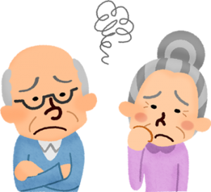 elderly-couple-annoyed
